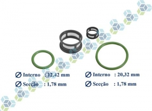 kit filtro para bico injecao single point sistema rochester efi gm
